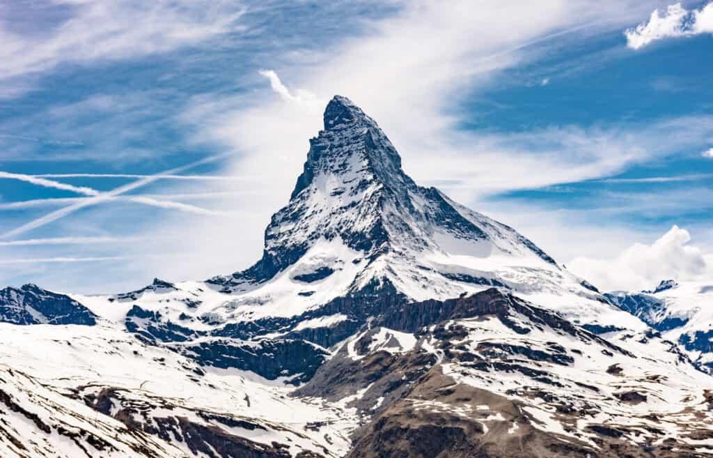 The Matterhorn Swiss Alps