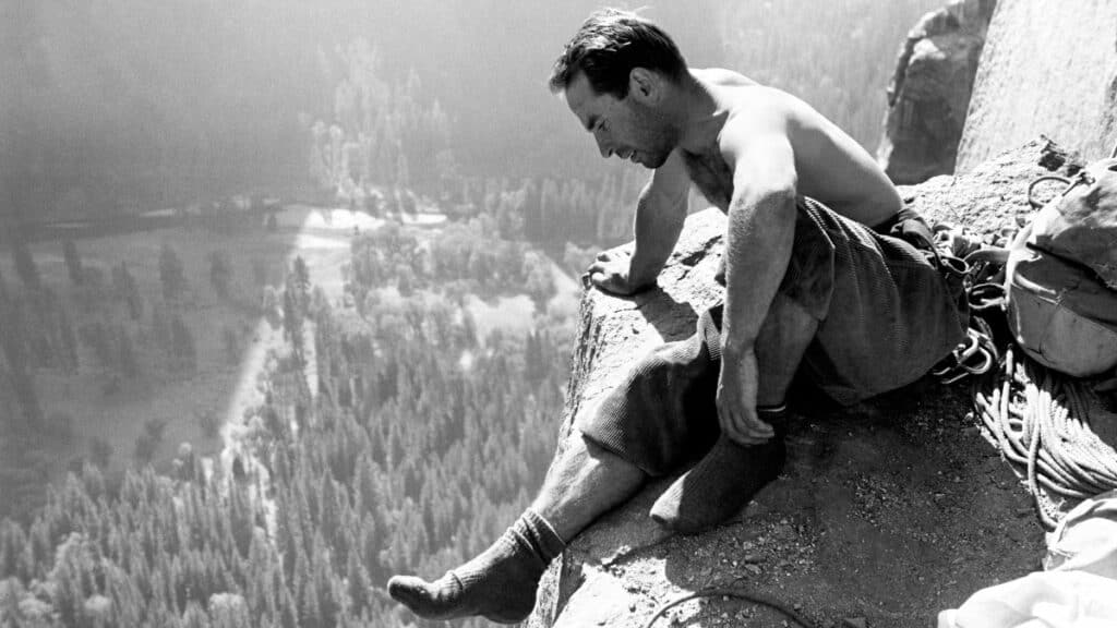 Yvon Chouinard dirtbag climbing patagonia founder